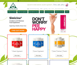 Bio-Health Ecommerce Website