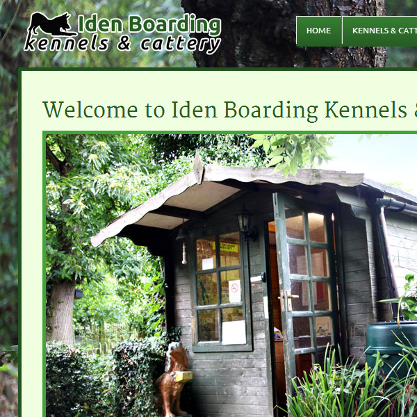 Web design for Iden Boarding Kennels