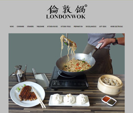 London Wok CMS Website